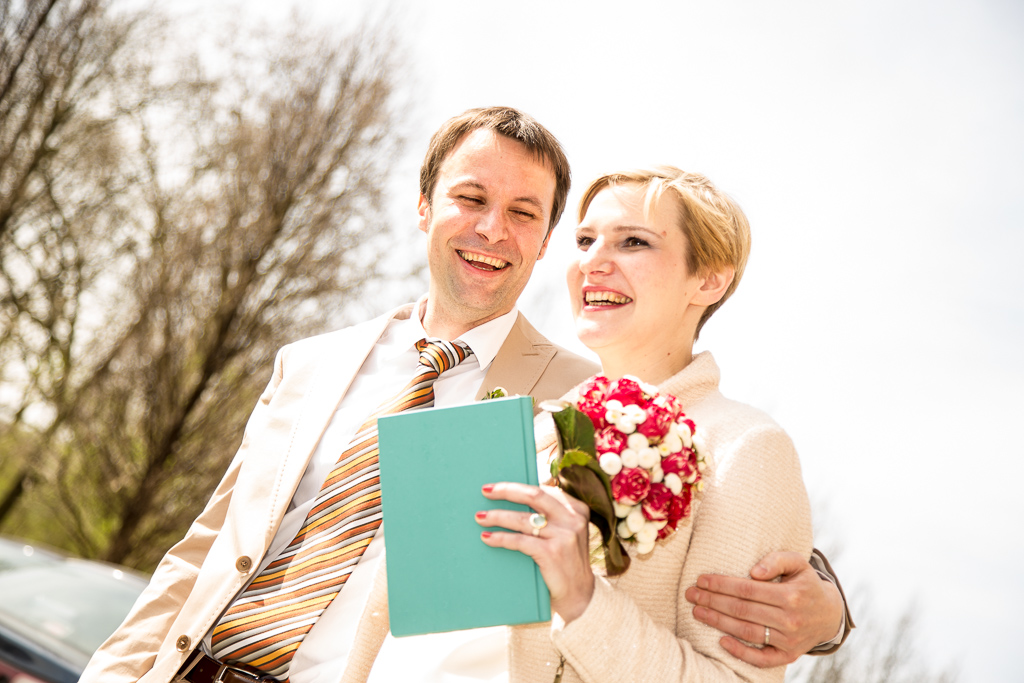 Mirja und Olaf, Standesamtliche Hochzeit in Berlin