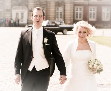 Analoge Hochzeits-Fotografie