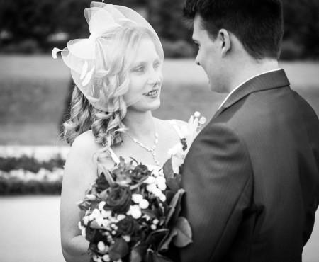 Claudia und Steven, Hochzeit im Schloss Ludwigsburg