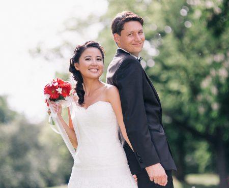 Patti und Thomas, Hochzeit in Stuttgart