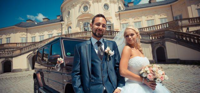 Johanna und Patrick, Hochzeit am Schloss Solitude