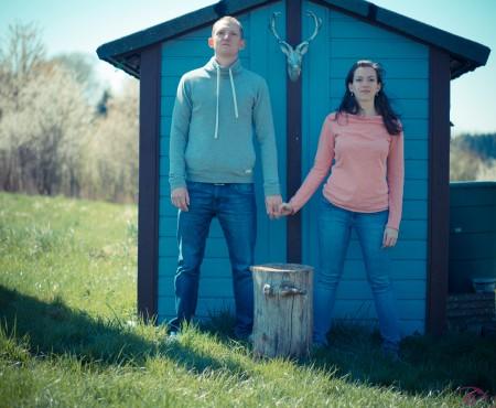 Shooting mit Cristina und Frank