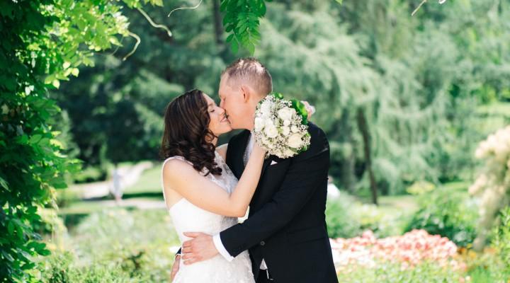 Cristina und Frank, Hochzeit in Plieningen