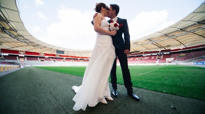 Sabrina und Patrick, Hochzeit in Stuttgart – Mercedes-Benz-Arena